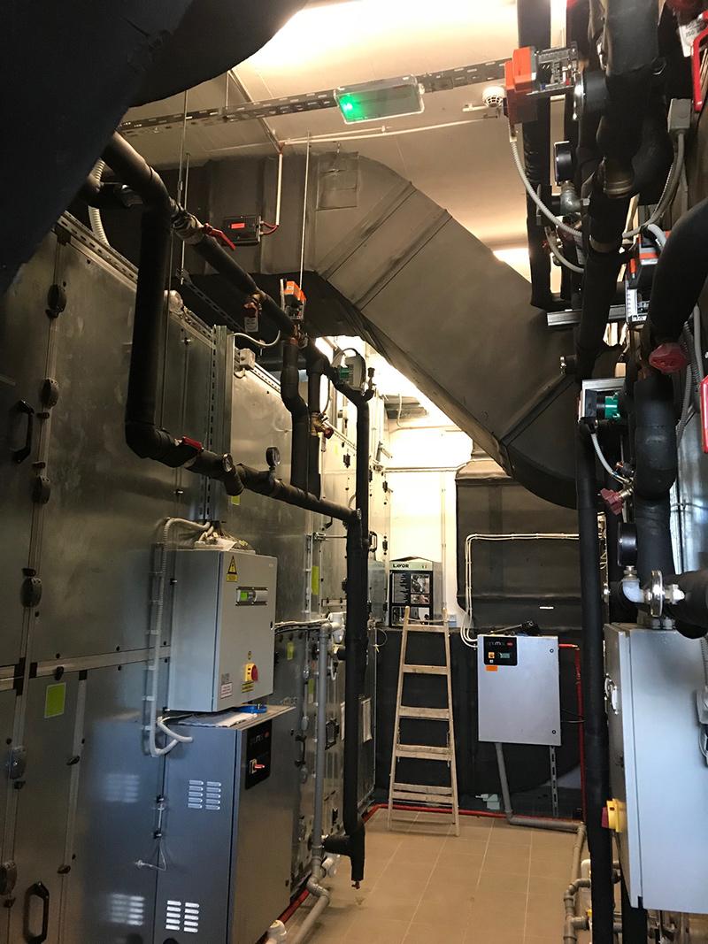 Strojne inštalacije - toplotna črpalka